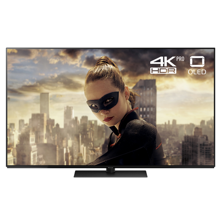 Panasonic TX55FZ802B, 55 inch Smart UHD 4k OLED TV Black with Freeview