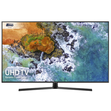 SAMSUNG UE55NU7400, 55 inch Smart Ultra HD Certified 4K HDR 10+ LED TV with Built-in Wi-Fi, TVPlus & Freesat
