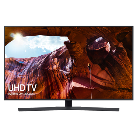 SAMSUNG UE65RU7400, 65 inch Smart Ultra HD 4K LED TV with Built-in Wi-Fi & New Apple TV App